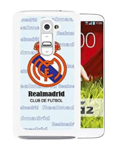 Fashion And Antiskid Cover Case For LG G2 With Real Madrid White Phone Case 4