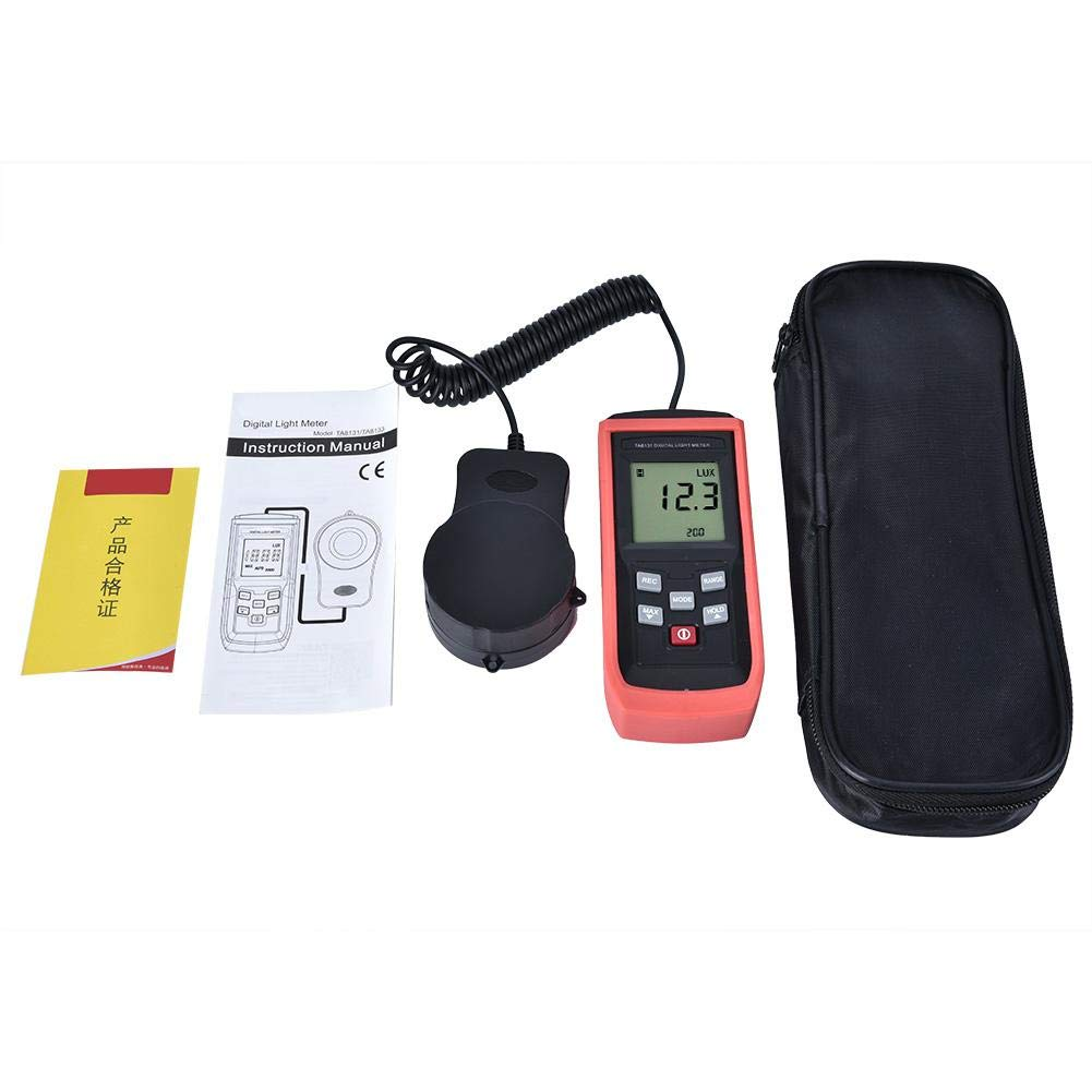 Digital Luxmeter,Hand-Held High Precision Digital Light Meter Luxmeter Illuminance Meter Photometer by Neufday