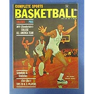 1961 Complete Sports Pro Basketball Issue Magazine ill Russell Celtics 123877