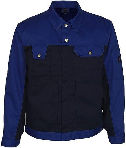C72 Mascot 00909-430-51-C72Como Work Jacket Kaki//Marine Blue