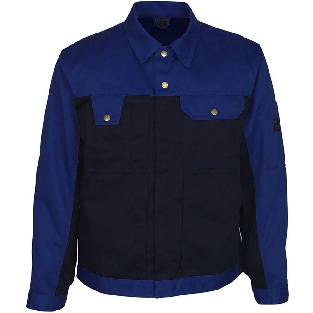 Mascot 00909-430-111-C68Como Work Jacket Marine Blue//Cornflower Blue C68