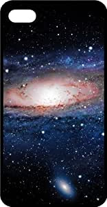 Galaxy Filled Space Scene Black Plastic Case for Apple iPhone 6 Plus