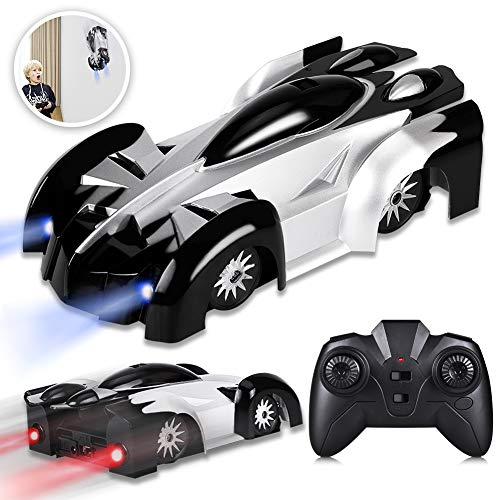 YEZI Rc Cars for Kids,360°Rotating Stunt Dual Mode Climbing Car Rechargeable, Head and Rear with Powerful LED Light,Remote Control Car Toys for Age 6 7 8-16 Year Old Boys Girls Best Gifts ()