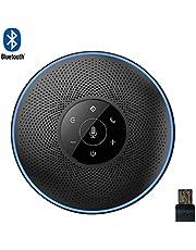 eMeet Bluetooth Freisprecheinrichtung - Konferenzlautsprecher M2 USB Speak Handy 8M Weitfeld Konferenzmikrofon Skype, Zoom, VoIP Kommunikation Conference Call, PC Mac und Windows Konferenzlösung