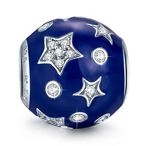 NinaQueen Dreamland 925 Sterling Silver Galaxy Series Star (Dreamland Halloween)