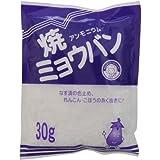 焼ミョウバン 30g
