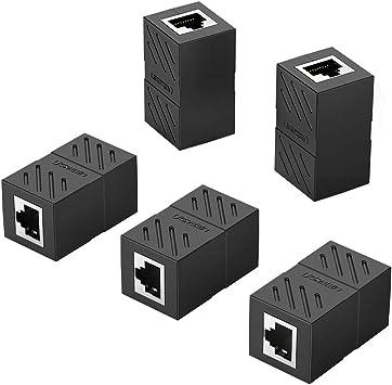 24x RJ45 Cat5E Keystone Jack Tool Less Snap-in Network LAN Ethernet 8P8C White