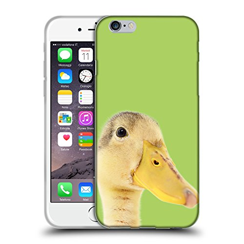 "GoGoMobile Coque de Protection TPU Silicone Case pour // Q05760628 Caneton inchworm // Apple iPhone 6 PLUS 5.5"""