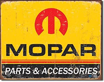"New Mopar 16"" x 12.5"" (D1315) Vintage Antique Appearance Advertising Tin Sign"