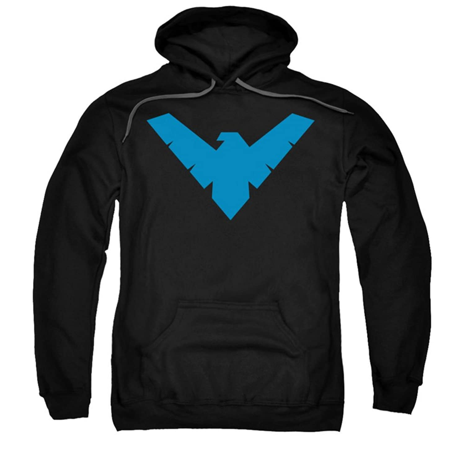 Amazon batman dc comics nightwing symbol adult pull over hoodie batmannightwing symbol adult pull over hoodie buycottarizona Choice Image