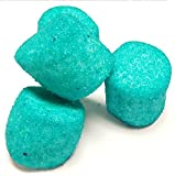 Sugared Marshmallows Teal Blue 1 Pounds 50 Pieces-Teal Candy
