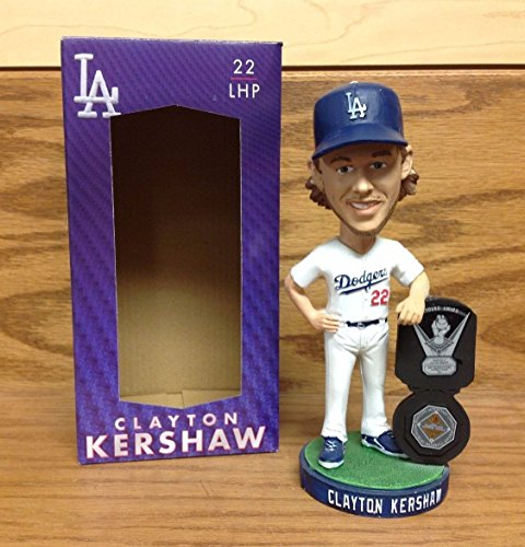 - Los Angeles Dodgers Bobblehead Clayton Kershaw 2014 CY Young and MVP Award Winner SGA Dodger Stadium SGA Promo May 12th, 2015