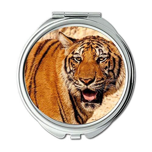 Mirror,Compact Mirror,animal big cat predator,pocket mirror,portable - Bathroom With Mirrors Lights Philippines