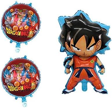 Amazon.com: Dragon Ball 6 piezas globo cumpleaños fiesta ...