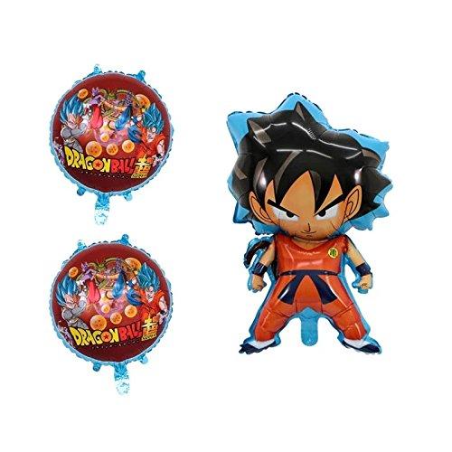 Dragon Ball 6 pieces balloon birthday party GOKU