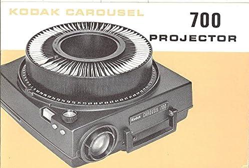 amazon com kodak carousel 700 slide projector original instruction rh amazon com kodak slide projector manual sears slide projector manual