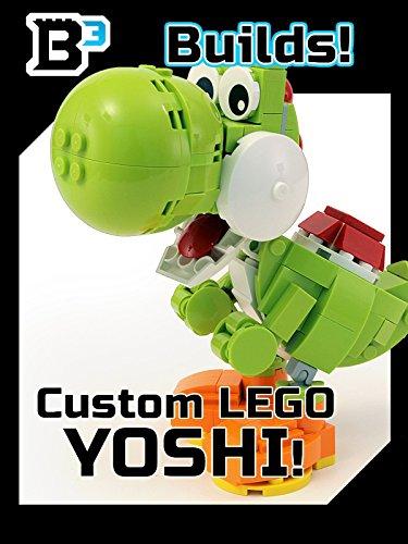 B3 Builds! Custom LEGO Yoshi Figure (Lego Mario Custom)