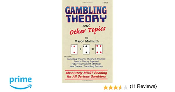 Gambling theory and other topics pdf play free for fun casino games