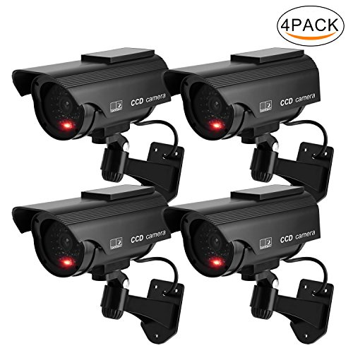 Solar Power Dummy Fake Imitation Home CCTV Security Surveillance Camera - 8