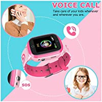 Amazon.com: MeritSoar Kids Smart Watch Phone with GPS ...