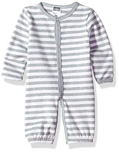 Kushies Baby Boys Classics Gown Convertible, Grey Preemie