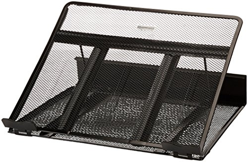 AmazonBasics Ventilated Adjustable Laptop Computer Desk Stand, 6-Pack