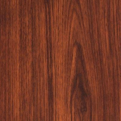 Brazilian Cherry 7 mm Thick x 7-11/16 in. Wide x 50-5/8 in. Length Laminate Flooring (24.33 sq. ft./case) ()
