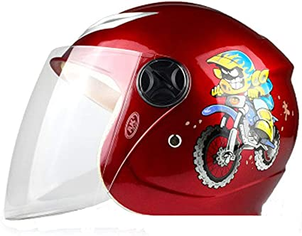 Casco infantil de moto eléctrica para hombre y mujer para ...