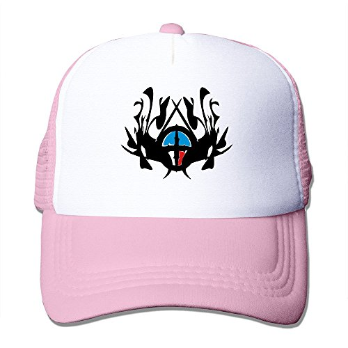 ZXHCKH Abstract Royal Crest Patterns Mesh Hat (Trucker Crest Hat)