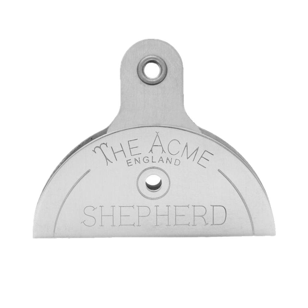 Plus Mi Life Shepherds Sheepdog Stock Plastic Lip Dog Whistle Border Collie Herding Livestock (Silver)