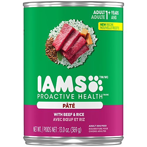 Used, Iams Proactive Health Adult With Beef And Rice Pate for sale  Delivered anywhere in USA