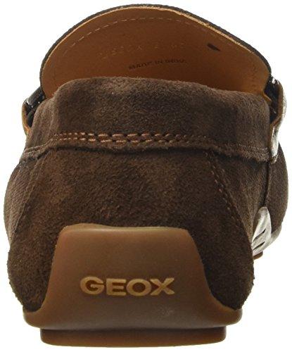 Geox U Giona B, Mocasines Para Hombre Marrón (Cigar/Cognacc6L6N)