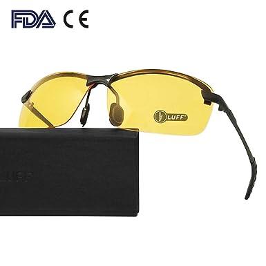 48dc7ecf360 Night-vision Glasses Anti-glare Driving Eyewear Polarized (classic black)   Amazon.co.uk  Clothing
