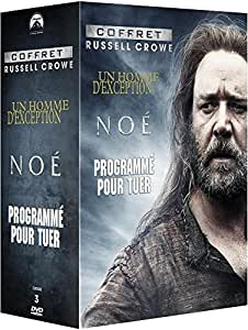coffret russell crowe no un homme d 39 exception programm pour tuer francia dvd. Black Bedroom Furniture Sets. Home Design Ideas