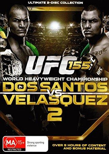UFC 155 Dos Santos vs Velasquez II DVD (Cain Velasquez Vs Junior Dos Santos 2)