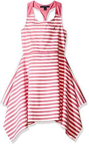 nautica-toddler-girls-stripe-knit-dress-with-twist-detail-medium-pink-2t