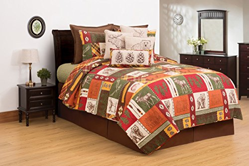 C&F Home Keaton Forest Twin 2 Piece Quilt Set Twin 2 Piece Set Green