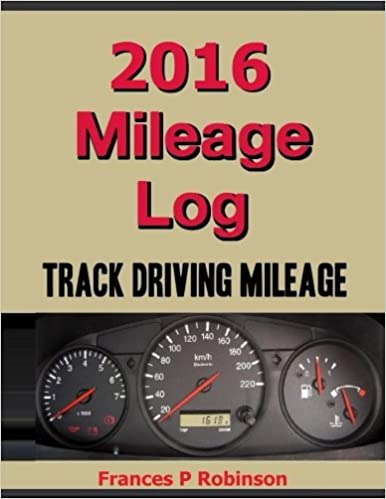 amazon com 2016 mileage log track driving mileage in this 2016