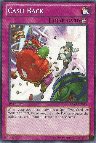 Yu-Gi-Oh! - Cash Back (ABYR-EN078) - Abyss Rising - Unlimited Edition - Common