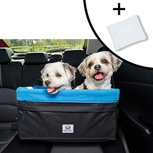 Boosta Pooch Large Dog Car Seat Double or Single Ideal for Small or Medium Dogs Weighing up to 30 Pounds