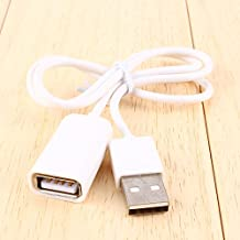 USB 2.0 Cable Male to Female USB Extend Extension Adapter Cable Cord Extender For PC Laptop