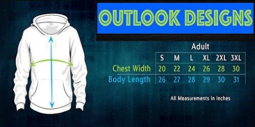 Outlook Designs Glasses and Bolt Adult Unisex Sweatshirt