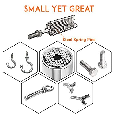 4PC Universal Socket Tool Set, 7mm- 19mm Magic Socket, Reversible Bushing Ratchet Wrench, Sockets Adapter, Drill Bit Extension, Gifts For Motorcycle Enthusiasts Handyman, Father/Dad, Husband Boyfriend