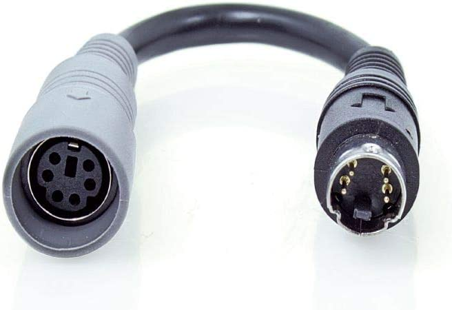 Caratec Monitor Adapter 6 Polige Kupplung Auf 4 Poligen Elektronik