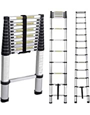 SogesHome Aluminum Telescopic Extension Ladder, JF-00