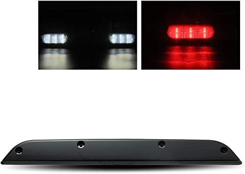 ModifyStreet Dark Smoke 3rd Third Brake Light//Rear High Mount Stop//Cargo Light For 15-17 Ford F150