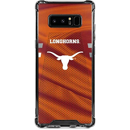 Skinit Texas Longhorns Jersey Galaxy Note 8 Clear Case - University of Texas at Austin - Skinit Clear Case - Transparent Galaxy Note 8 Cover ()