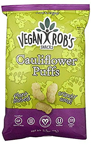 Vegan ROB'S, Puffs, Cauliflower - Pack of 12