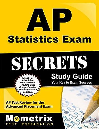 amazon com ap statistics exam secrets study guide ap test review rh amazon com Statistics Exam Questions and Answers AP Statistics Released Exams