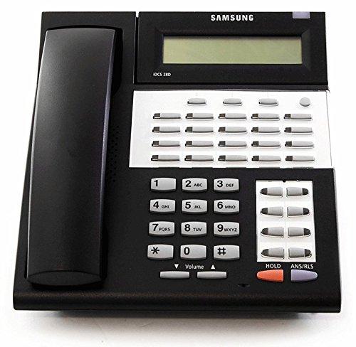 (Samsung iDCS 28D Falcon Black Display Speakerphone | Refurbished)